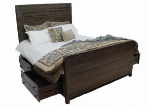 Townsend Queen Platform Storage Bed by Modus