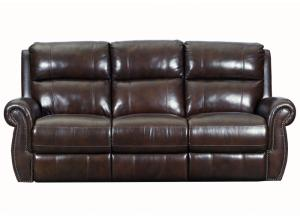 59948 Leather Double Power Reclining Sofa by Lane