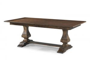 Trisha's Trestle Table w/18