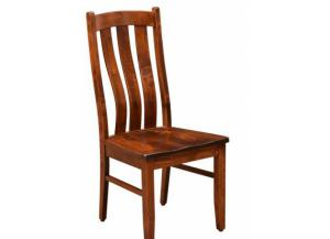 Trailway Wood Amish Solid Wood Side Chair