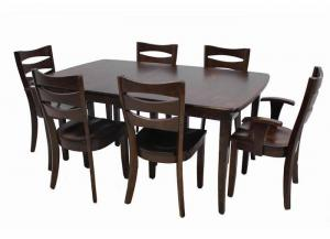 Trailway Wood Alt3648 7-Piece Dining Set