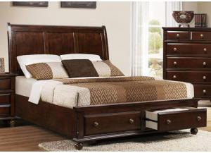 Portsmouth Queen Storage Bed by Crown Mark
