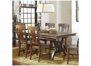 The District Dining Table w/Leaf