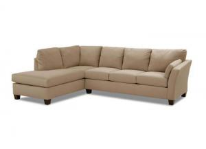 OE16 Drew 2pc Chaise Sectional by Klaussner