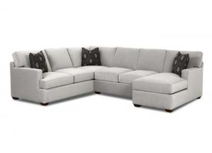 K29000 Loomis Sectional with Chaise end by Klaussner
