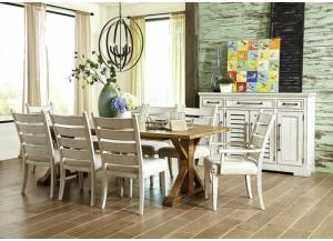 Coming Home 7-Piece Dining Set by Klaussner