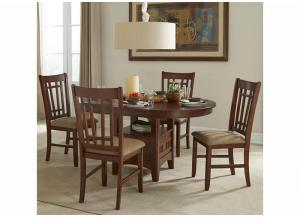Mission Casuals Oval 5 Piece Dining Table Set