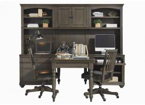 Oxford Writing Desk and Hutch by Aspen