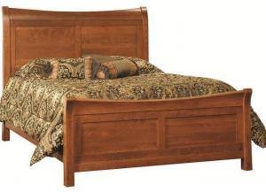 Princeton Queen Solid Wood Sleigh Bed