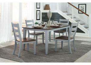 Small Space 5-Piece Dining Set