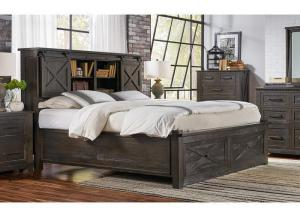 Sun Valley King Storage Bed by AAmerica