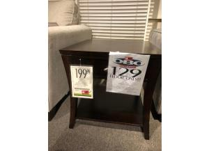 Clearance  - End Table w/ Drawers by Jofran