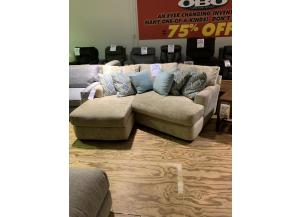 CLEARANCE-K18400 Sectional by Klaussner