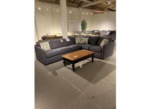 CLEARANCE-Atlanta Sleeper Sectional by Klaussner