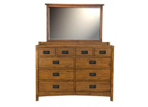 Mission Hill 10 Drawer Dresser by A.America