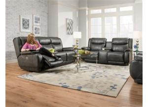875 Reclining Console Sofa by Southern Motion