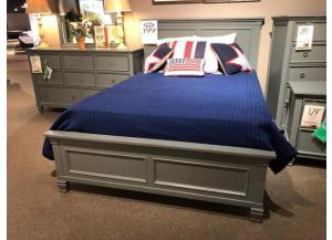 CLEARANCE-TAMARACK FULL SIZE GREY BED