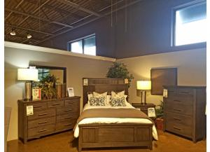 Clearance - Dresser, Mirror, Chest, & Queen Bed by Klaussner