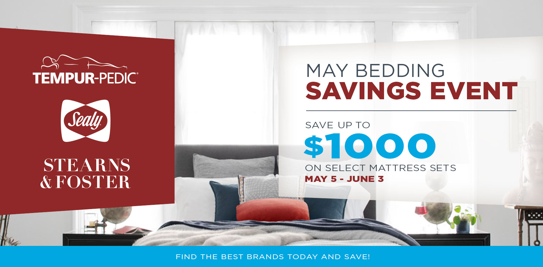May Bedding Event