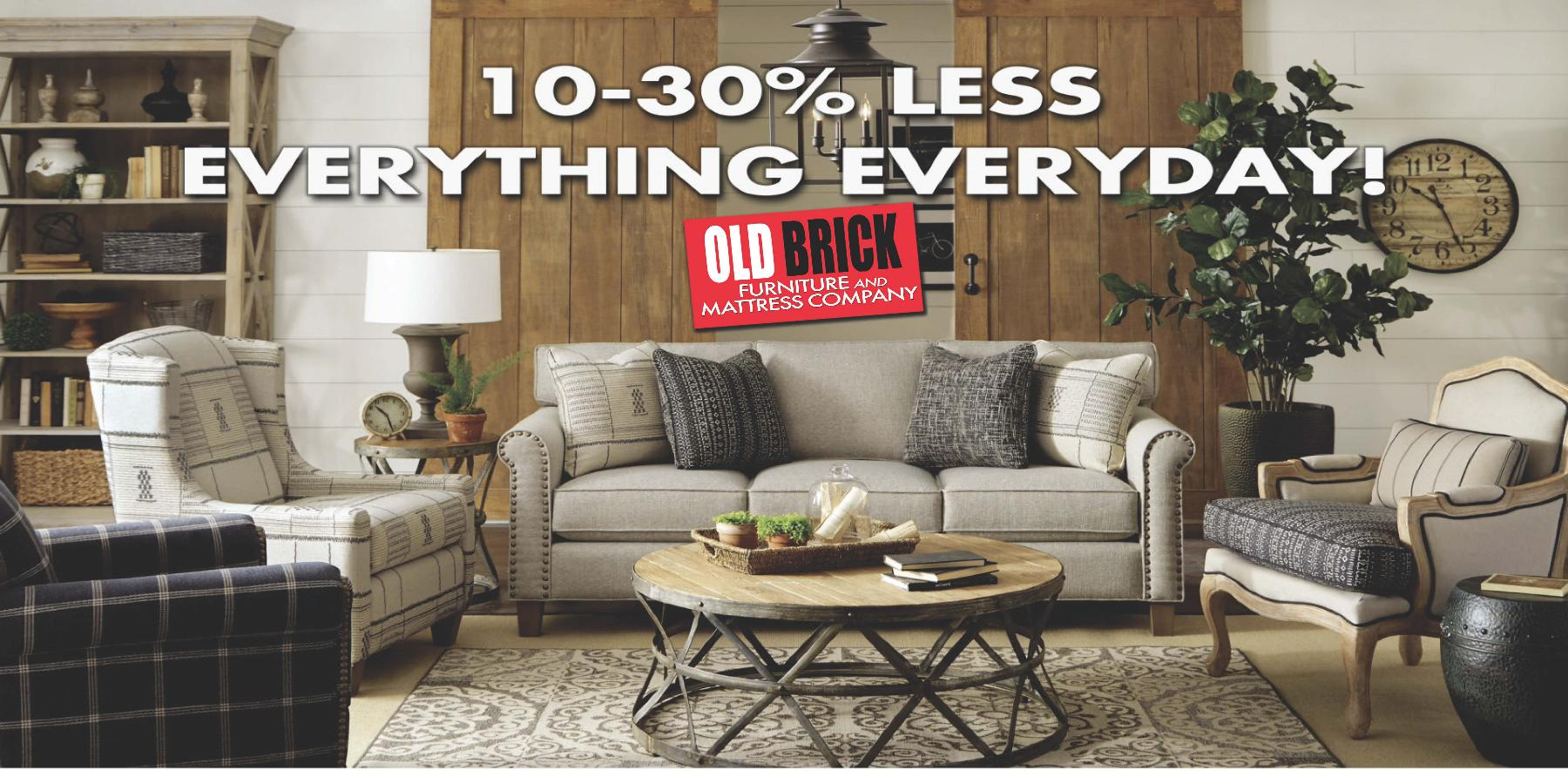 10-30% off everyday banner