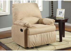 Brown Light Glider Recliner