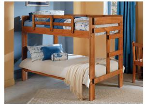 2600 Twin 2x6 Bunk Bed