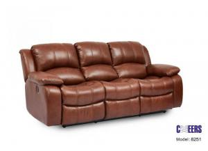 Cheers Leather Reclining Sofa