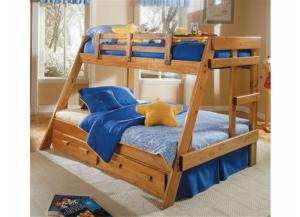 Woodcrest Twin/Full Bunkbed