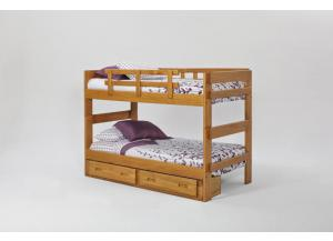 Woodcrest Heartland Twin/Twin Split Bunk Bed