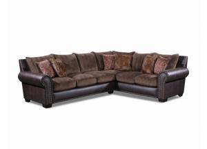 Seminole Patterson Chocolate 2 pc. Sectional Sofa