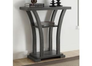 Image for Crown Mark Draper Hall Grey Console Table