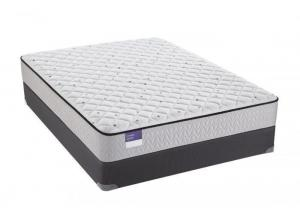 Sealy Crown Jewel Scallop Pearl Firm Queen Mattress