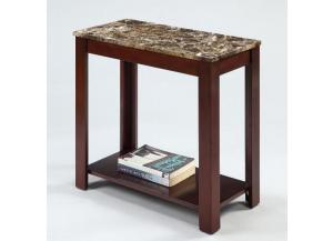 Image for Crown Mark Devon Chair Side Table