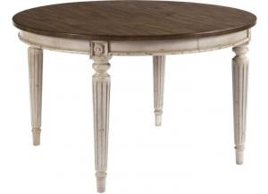 American Drew Furniture Southbury Round Dining Table