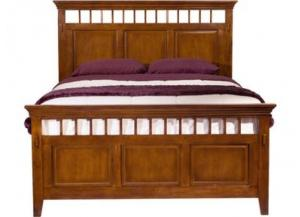 Elements Trudy King Panel Bed with Rails