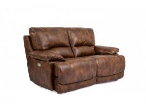Cheers Power Loveseat w/ Power Headrest