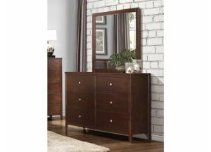 Homelegance Cullen Collection 6 Drawer Dresser & Mirror