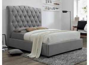 Image for Crown Mark Janice Queen Upholstered Bed