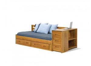 Woodcrest Heartland Daybed With Chest & Shelf