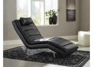 Ashley Goslar Black Chaise