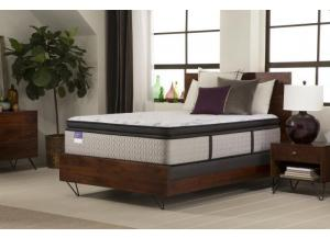 Sealy Crown Jewel Cherry Opal Plush Euro Pillow Top Twin Mattress
