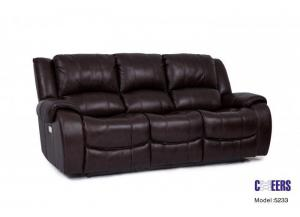 Cheers Leather Power Sofa
