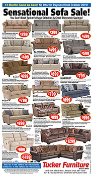 Sensational Sofa Sale