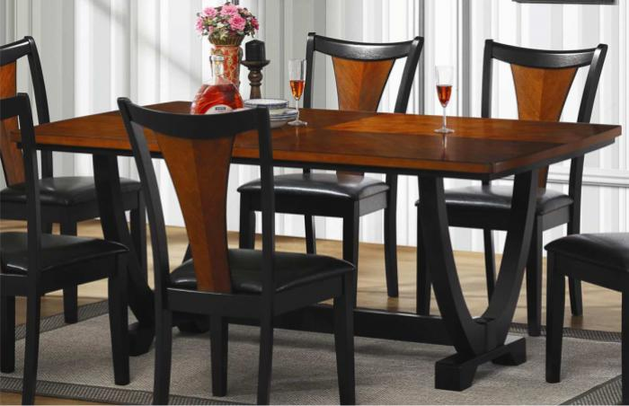 Boyer Rectangular Dining Table w/Butterfly Base,Coaster