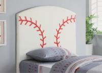 Allstar Twin Baseball Headboard