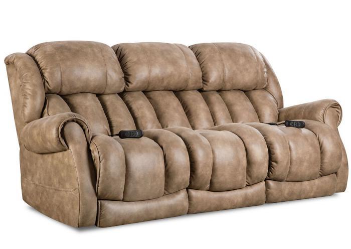 Tremendous Underpriced Furniture Berkley Nougat Power Reclining Sofa Dailytribune Chair Design For Home Dailytribuneorg
