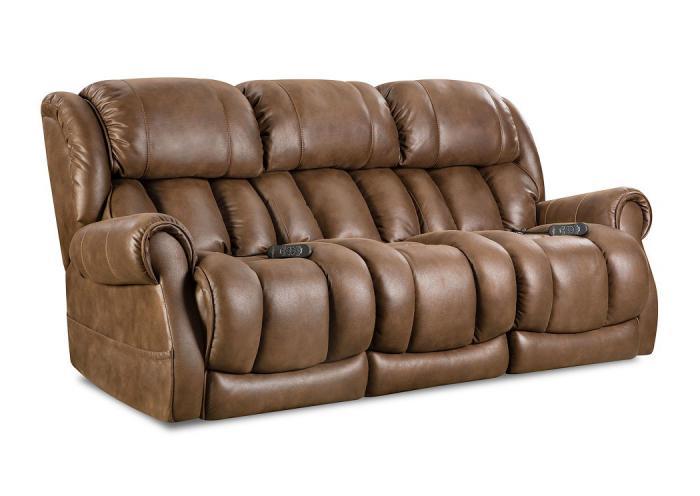 Awe Inspiring Underpriced Furniture Berkley Cognac Power Reclining Sofa Dailytribune Chair Design For Home Dailytribuneorg