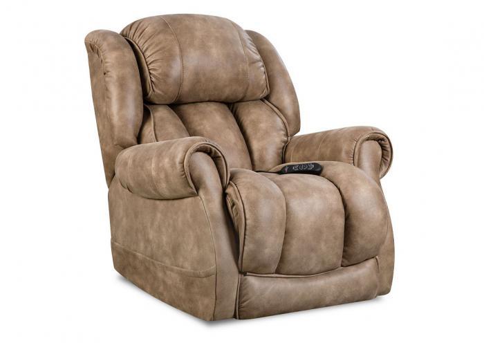 Groovy Underpriced Furniture Berkley Nougat Power Recliner Dailytribune Chair Design For Home Dailytribuneorg