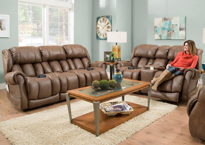 Strange Underpriced Furniture Berkley Cognac Power Reclining Dailytribune Chair Design For Home Dailytribuneorg
