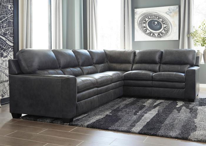 Gleason Charcoal Sectional,ASHUM